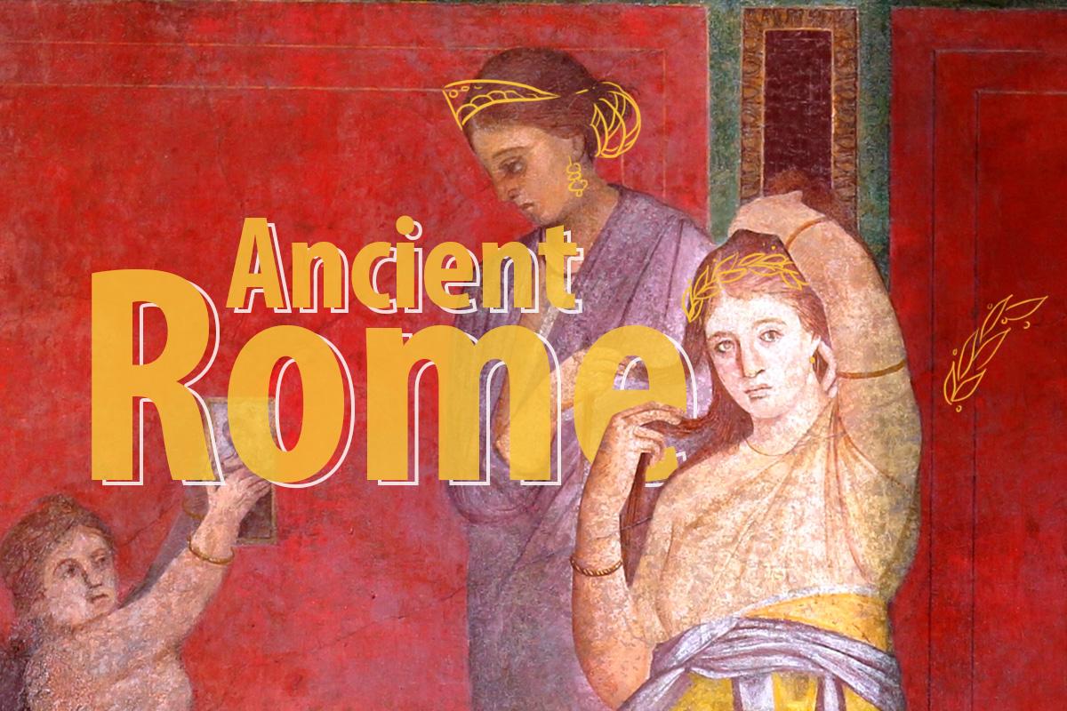 Women's Headdresses Of Ancient Rome