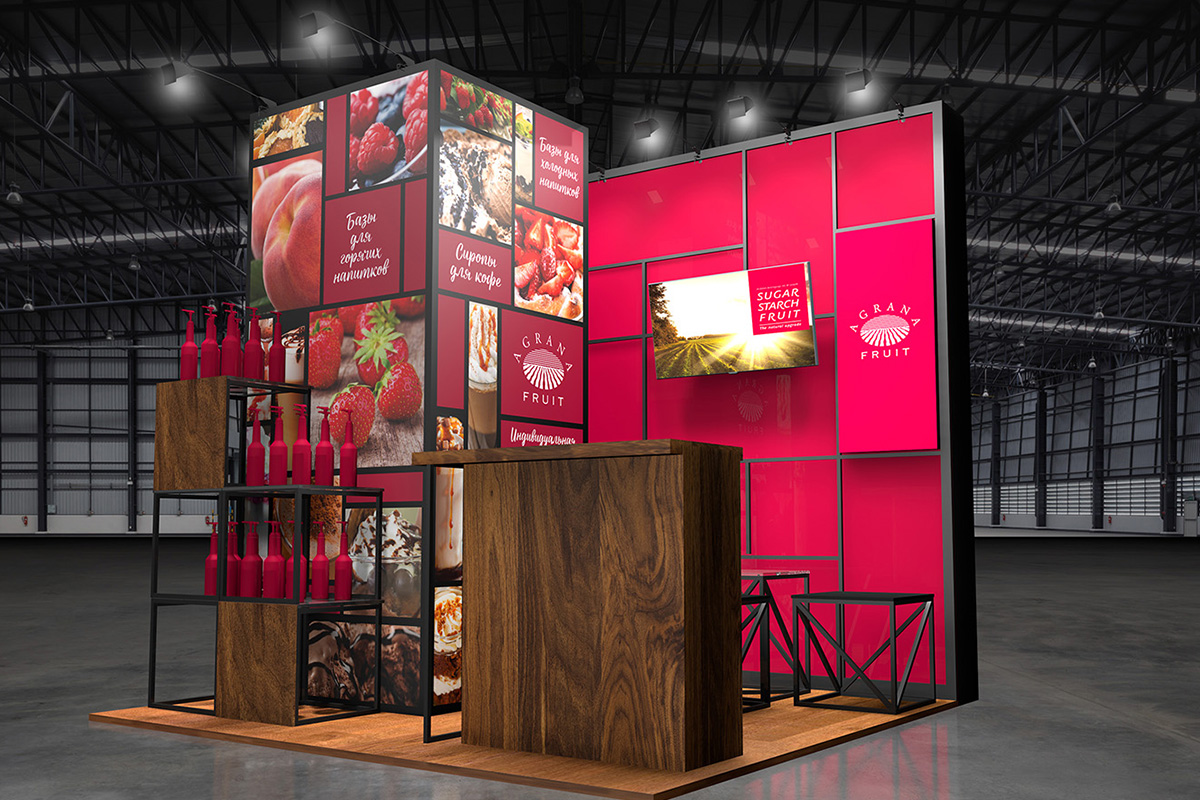 Exhibition Stand Agrana Fruit