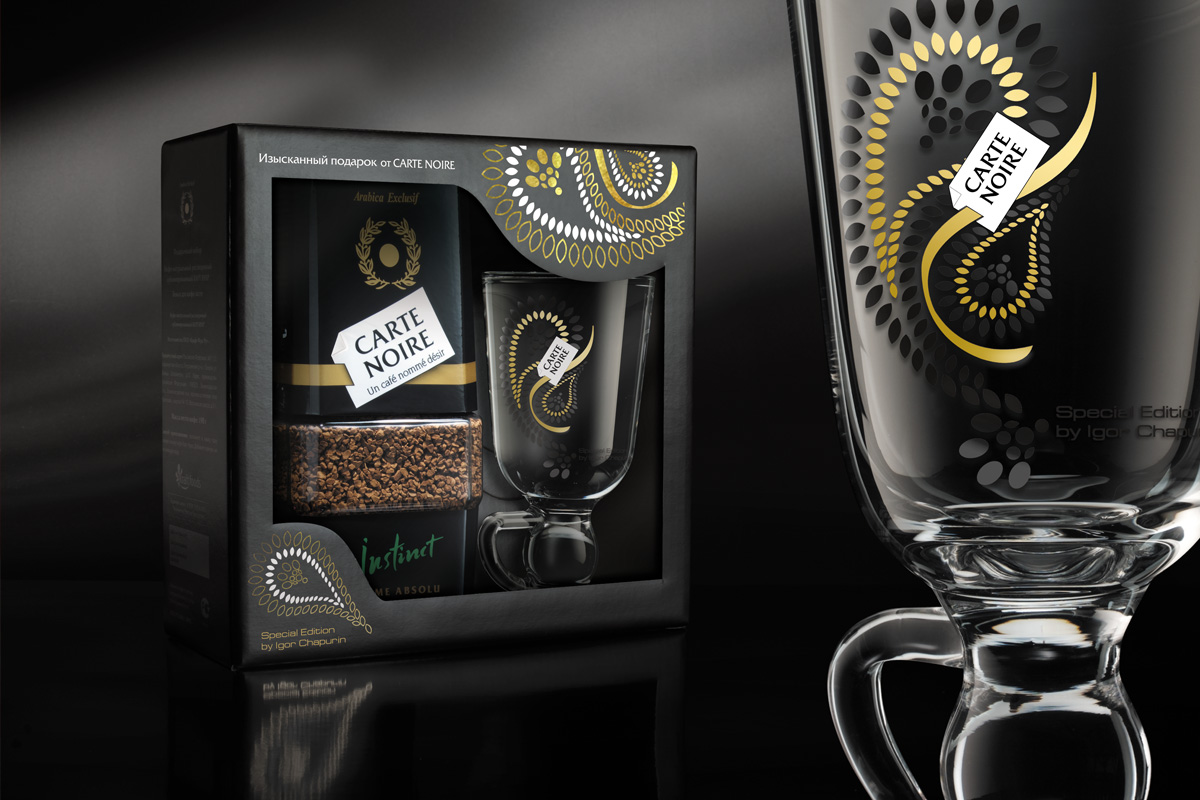 Carte Noire Collectible Packaging
